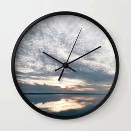BLUE MOON XVII / Alviso, California Wall Clock