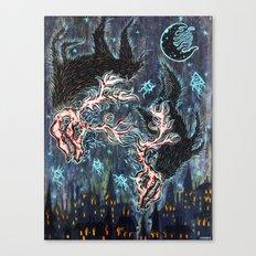 Fonta Fauna Canvas Print