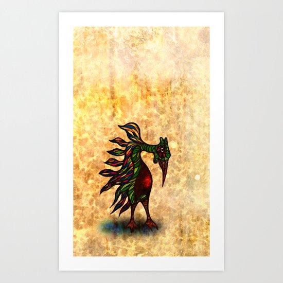 Nopalitus Noticierus Art Print
