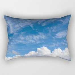 Bellingham Clouds Rectangular Pillow