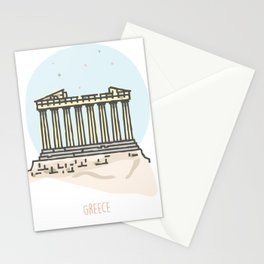 Greece - Acropolis Stationery Cards