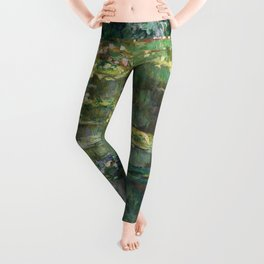 Water Lilies 1904 by Claude Monet Leggings