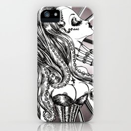 Mademoiselle Octopussy iPhone Case