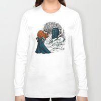 hallion Long Sleeve T-shirts featuring Follow Your fate by Karen Hallion Illustrations