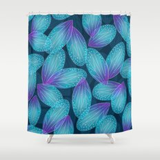 Water Fairy Wings Shower Curtain