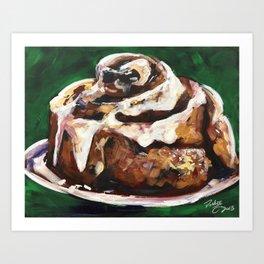Cinnamon Roll Art Print