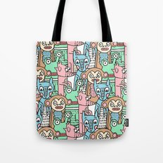FUNNY ANIMALS Tote Bag