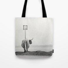 highland visitor Tote Bag