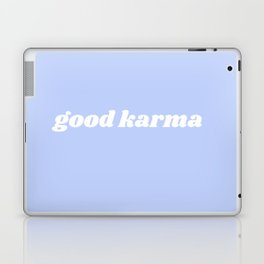good karma Laptop & iPad Skin