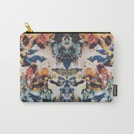 Rorschach Flowers 8 Carry-All Pouch