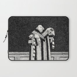 E IS FOR EDWARD, WHO ADOPTED SOME CATS Laptop Sleeve