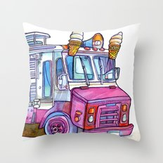 Love NYC's everything Throw Pillow