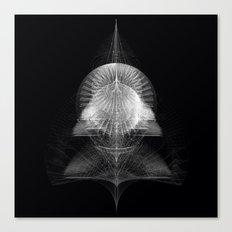 MONOCHROME COMPLEX Canvas Print