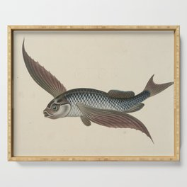 Vintage Flying Fish Serving Tray