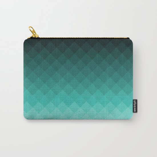 Ombre squares Carry-All Pouch