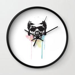 Dripping Skull Wall Clock