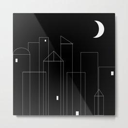 Nightowls (Ghost Town) Metal Print