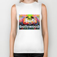 cyberpunk Biker Tanks featuring Bollywood Cyberpunk by BOLLYWOOD