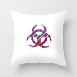 Carbon 14 Throw Pillow