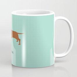 Frank the Dachshund Coffee Mug