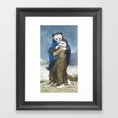 L'Opossums Framed Art Print