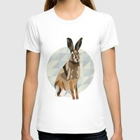 hare T-shirts featuring Hare by Giulia Zerbini