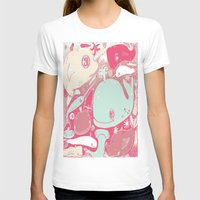 whales T-shirts featuring Whales by Amy Gale