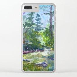 Yosemite Creek Clear iPhone Case