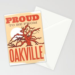 Proud to be from Oakville Canada Stationery Cards