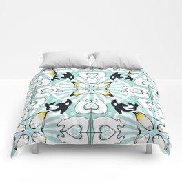Kaleidoscopic Both Poles Animals Comforters