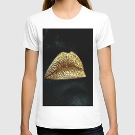 Golden Lips T-shirt