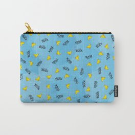 WHAT THE DUCK Carry-All Pouch