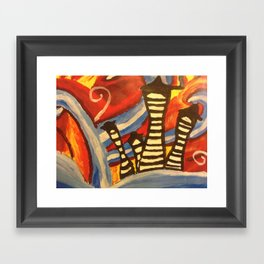 Tiny Town Framed Art Print