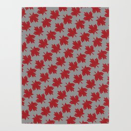 Canadian Pattern Poster