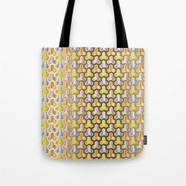 Traditional Japanese pattern BISHAMON-KIKKO Tote Bag