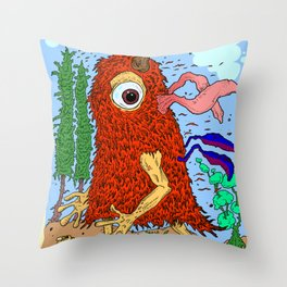 The Sighting Throw Pillow