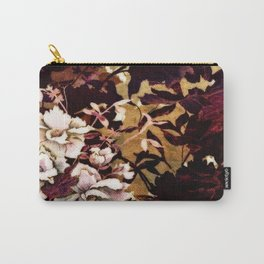 Tropical Blaze Floral Print Carry-All Pouch