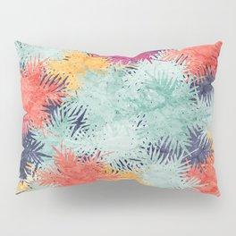 Tropical Fan Palm Paradise – Colorful #03 Pillow Sham