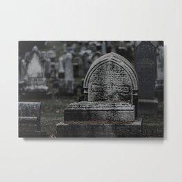 Taphophilia   2 Metal Print