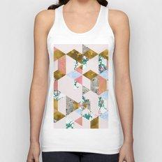 Geometry of Love #society6 #decor #buyart Unisex Tank Top