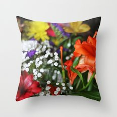 ~Flower Madness ~  Throw Pillow