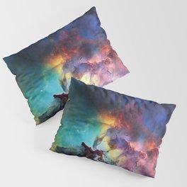 Lagoon Nebula Pillow Sham