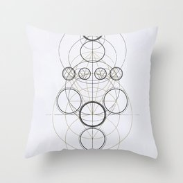 Planetary Alchemy Throw Pillow