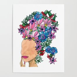 Exotic Beauty Poster