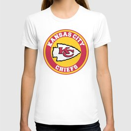 KC Chief US Football Team T-shirt