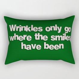 Wrinkles Rectangular Pillow