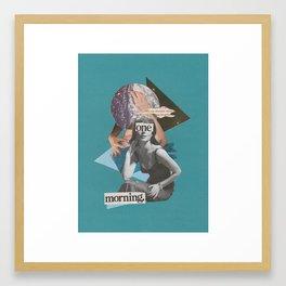One Morning Framed Art Print