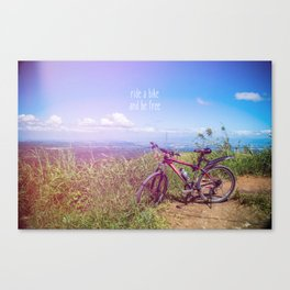 bike = freedom Canvas Print