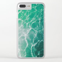 Water Reflecting Light Clear iPhone Case