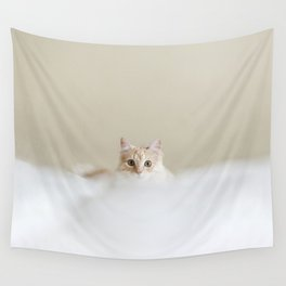 Harry set to pounce Wall Tapestry